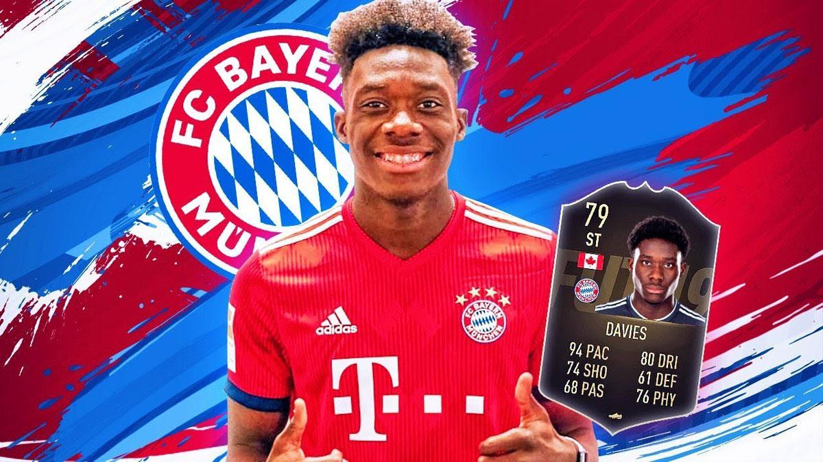 Alphonso Davies de un campo de refugiados a triunfar con el Bayern Munich