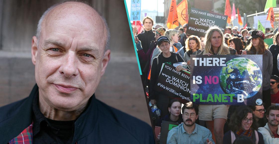 Escuchen el score de Brian Eno para los videos del grupo ambientalista Extinction Rebellion