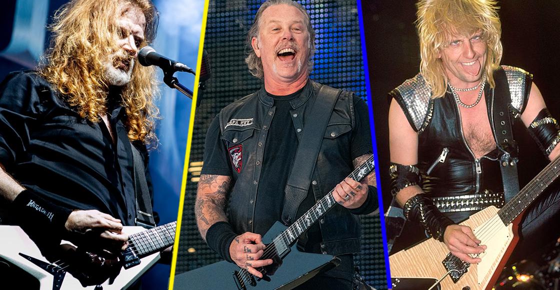Miembros de Metallica, Slayer y Judas Priest saldrán en el nuevo documental 'Flying V'