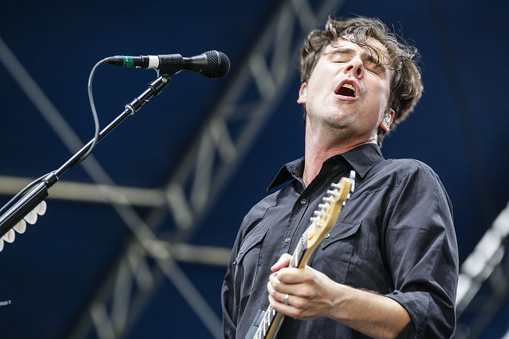 Jim Adknins de Jimmy Eat World debuta su podcast con Mark Hoppus de Blink-182