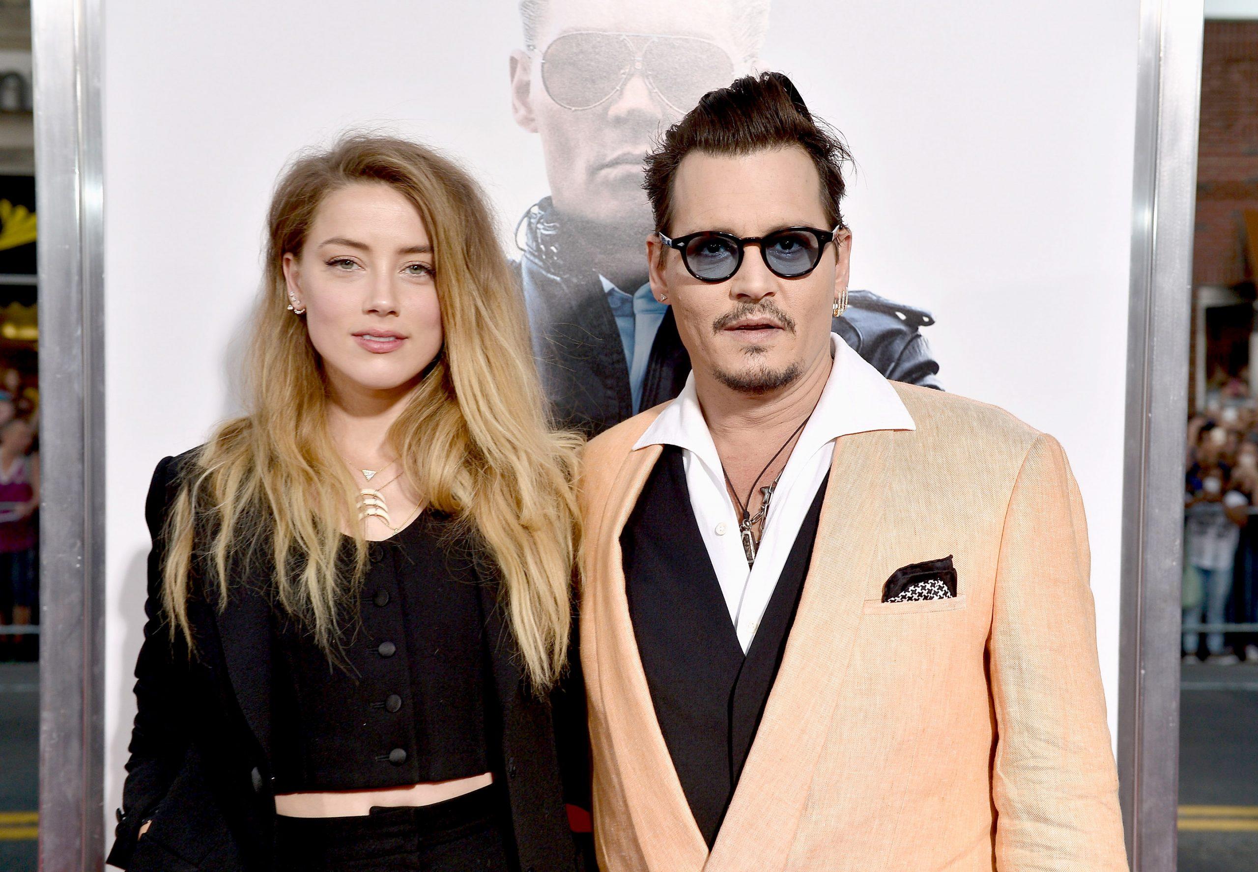Amber Heard y Johnny Depp en septiembre de 2015.