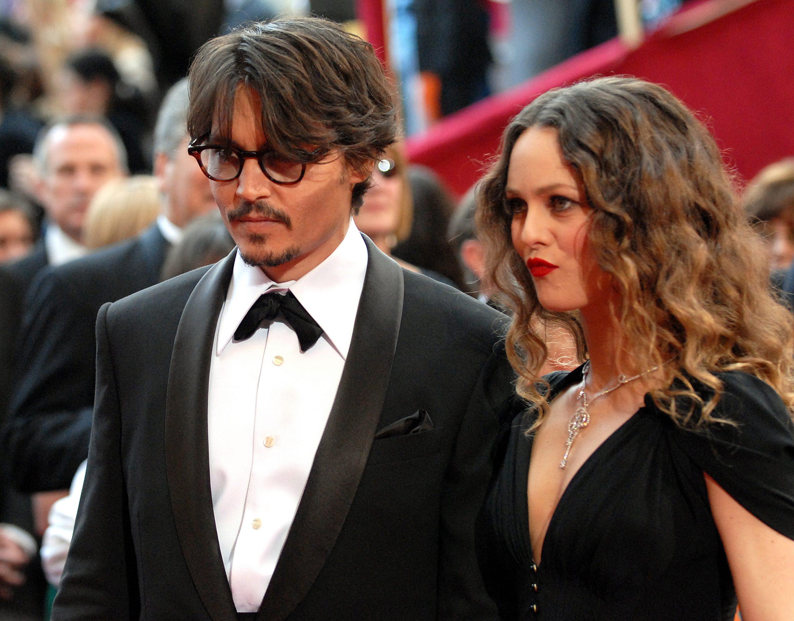 Johnny Depp y Vanessa Paradis en 2008. Estuvieron casados de 1998 a 2012.