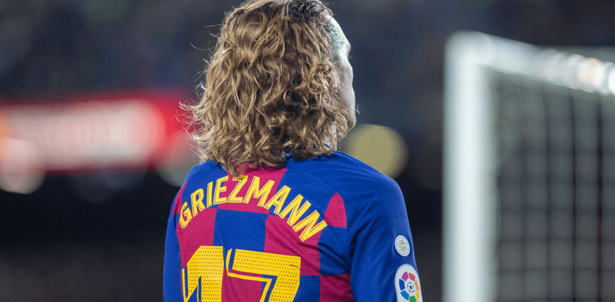 Griezmann will use the '7' with Barcelona