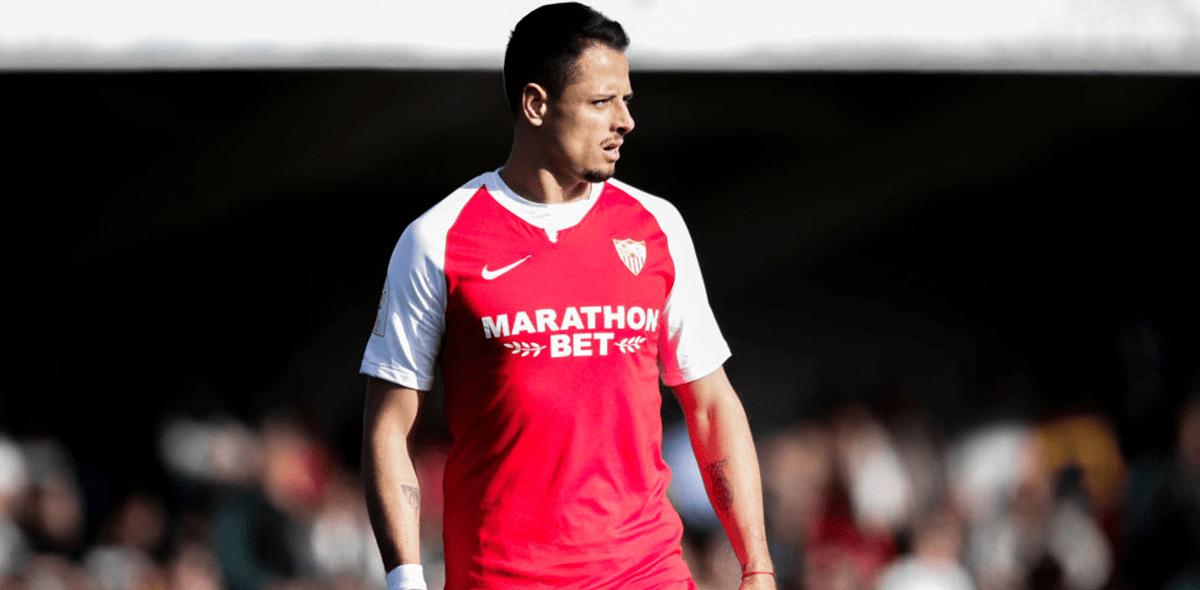 'Chicharito' es campeón de la Europa League tras título del Sevilla