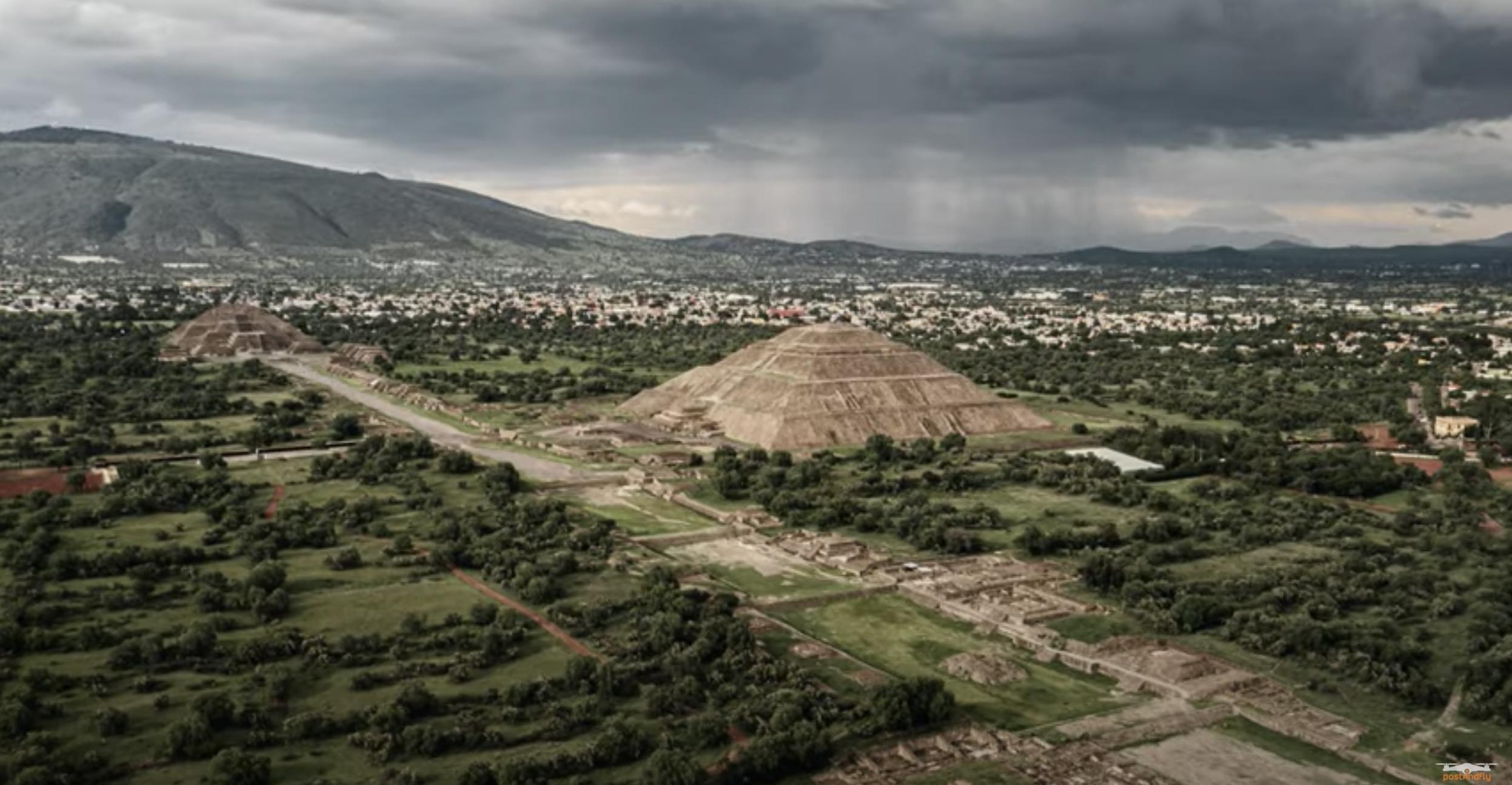 ¡Teotihuacán como nunca antes! Vean estas increíbles imágenes aéreas de las famosas pirámides