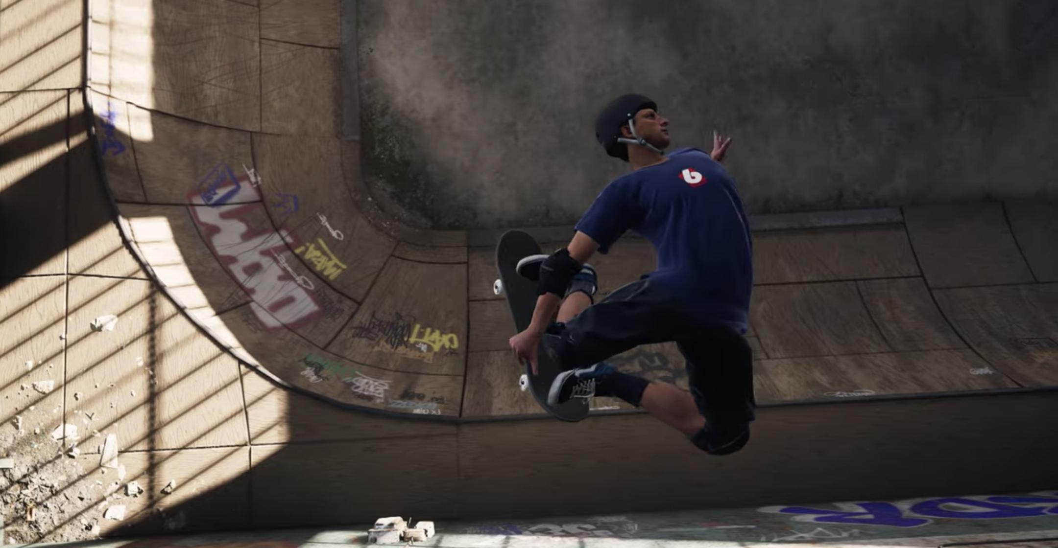 La remasterización de Tony Hawk's Pro Skater 1 y 2 ya tiene nuevo tráiler