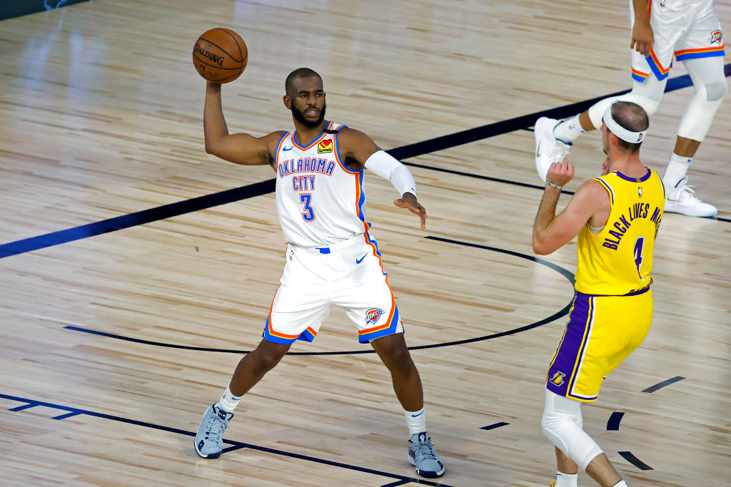 Twitter se carcajea de los Lakers tras el baile de Chris Paul y el Oklahoma Thunder