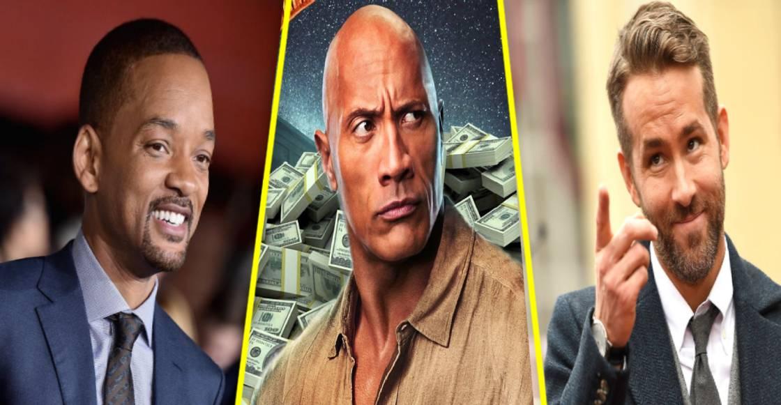 ¡Que se mochen! Estos son los actores mejor pagados en el 2020, según Forbes
