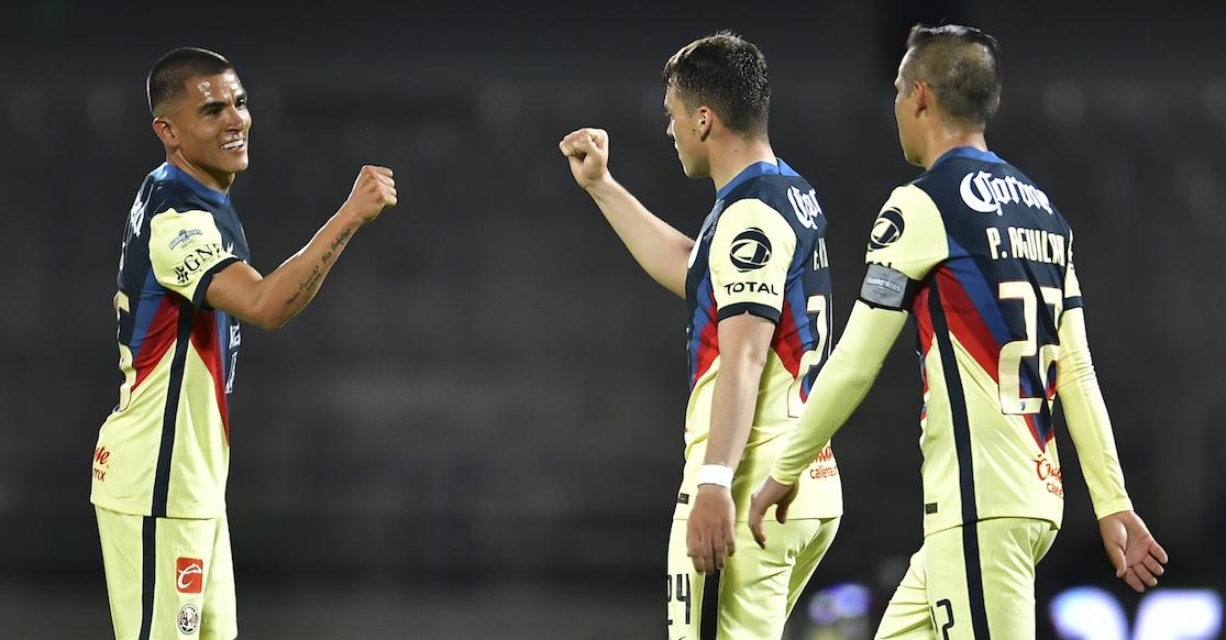 América gusta, gana y golea ante Santos