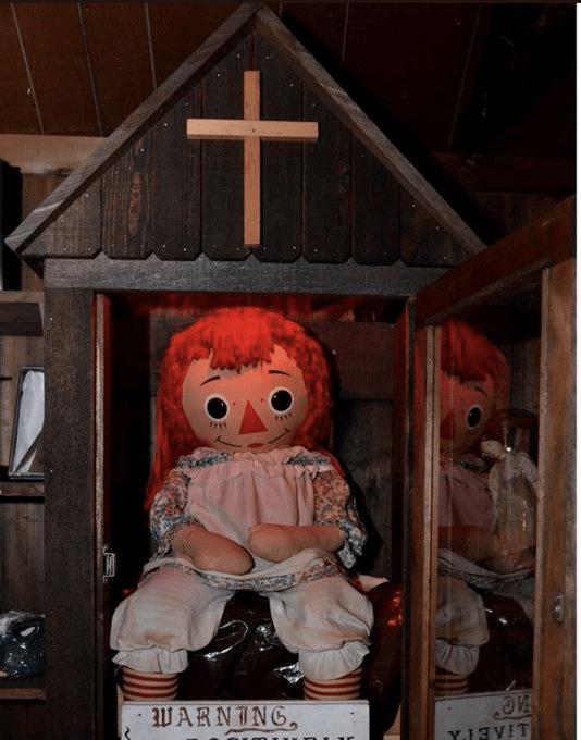 La muñeca que inspiró la película