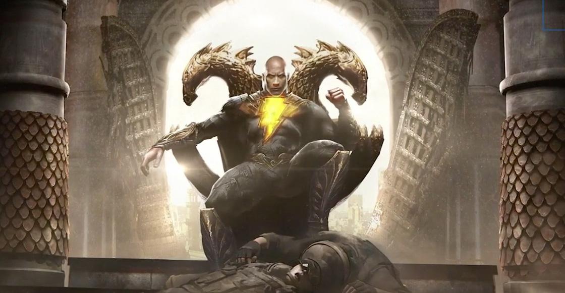 DC FanDome: Dwayne Johnson presentó la historia y los primeros artes de 'Black Adam'