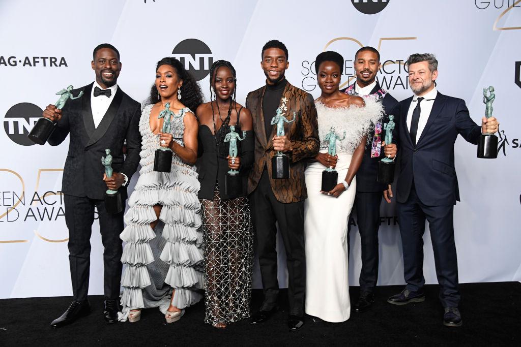 Organizan una fiesta masiva para ver 'Black Panther' en honor a Chadwick Boseman