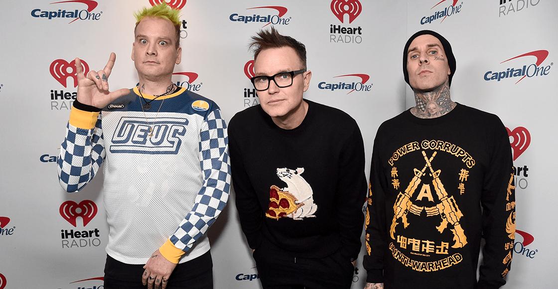 """Blink-182 vuelve al punk rock crudo con su 'atinada' rola llamada """"Quarantine"""""""