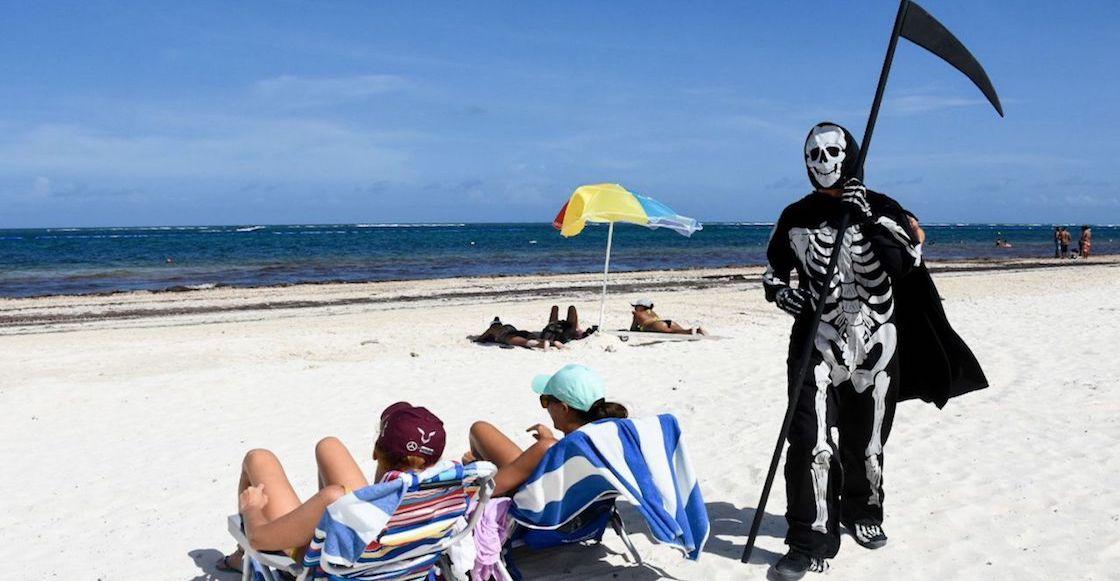 calavera-puerto-morelos-playa-coronavirus
