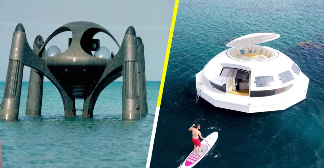 ¡Justo en la nostalgia! Ya puedes navegar en la cápsula flotante de James Bond