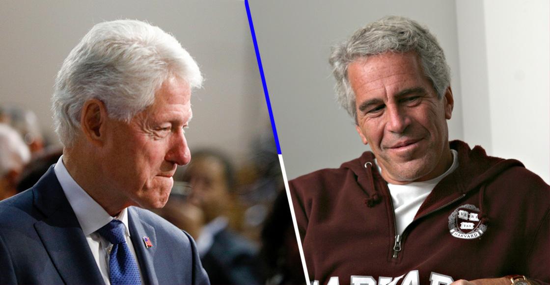 Revelan fotos inéditas de Bill Clinton con una de las víctimas de Jeffrey Epstein