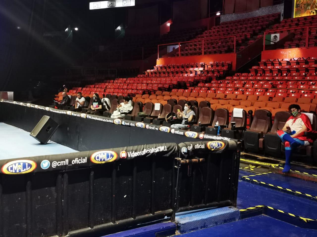 La Cotorrisa en la Arena México