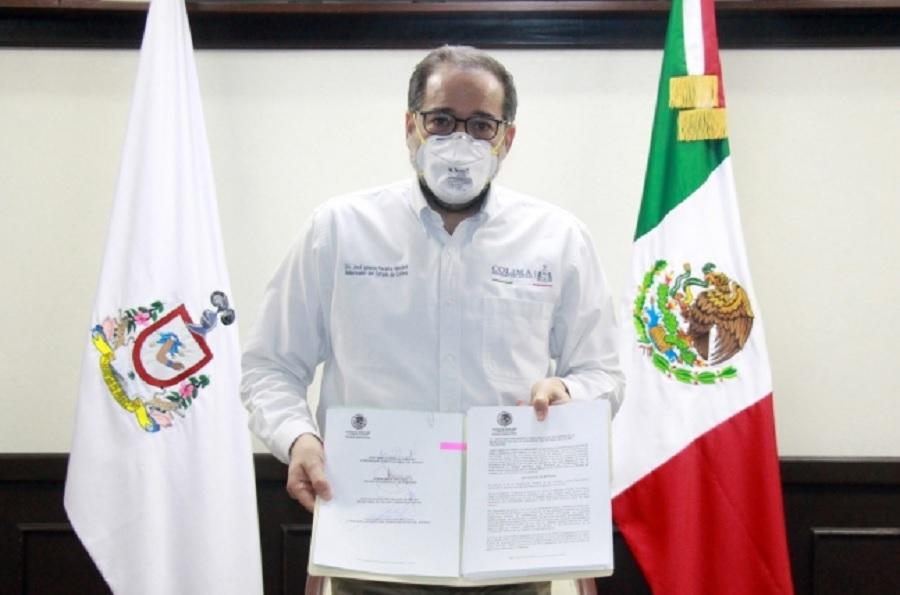 Iniciativa cubrebocas obligatorio en Colima