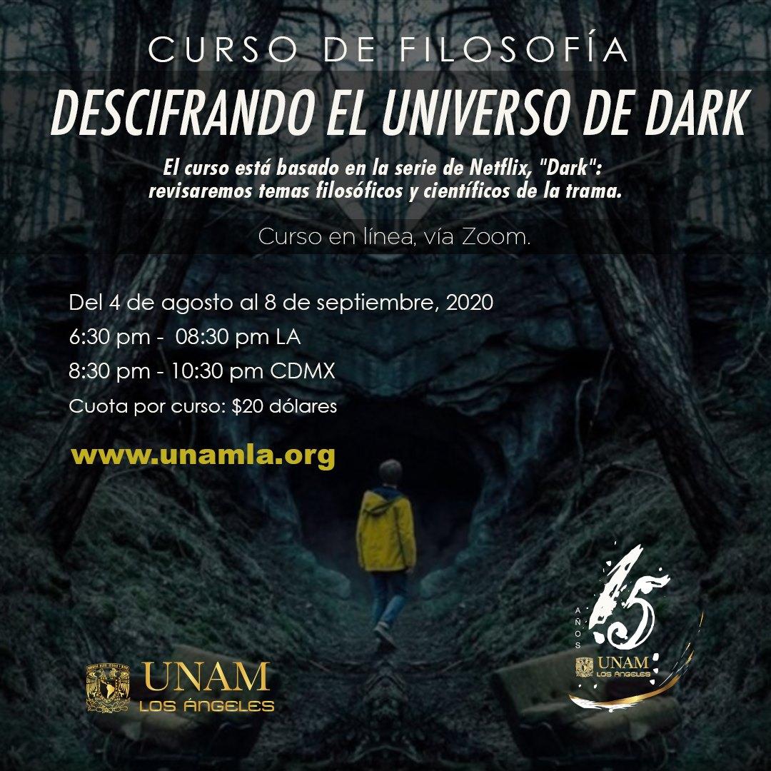Esto sí nos interesa: La UNAM ofrece un curso de filosofía en línea para entender 'Dark'