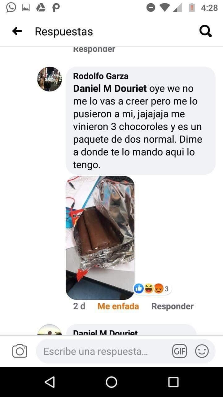 MeMéxico: La historia del chico que recibió un chocorrol que le faltaba por correo