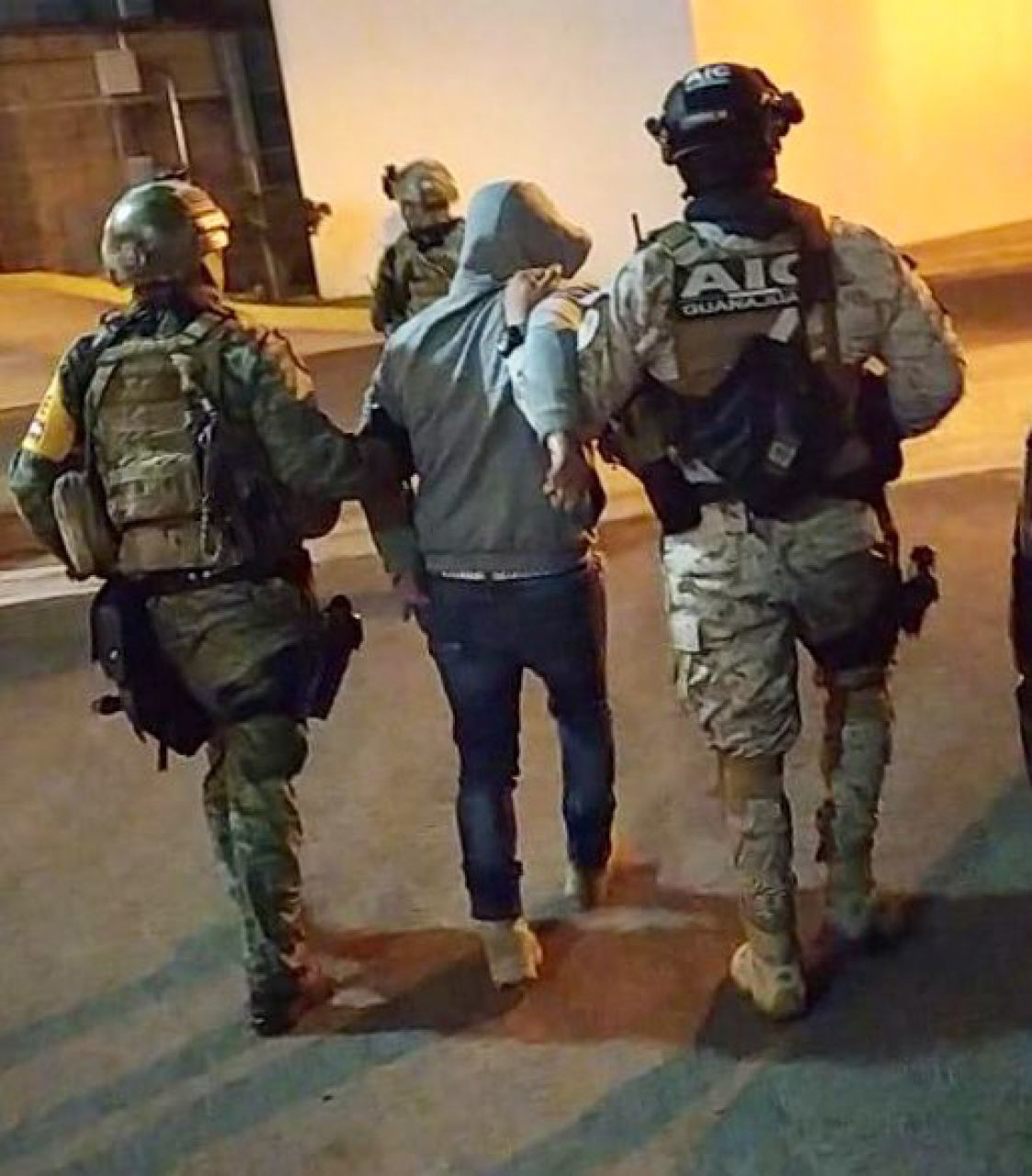 Jefe de seguridad de 'El Marro' también fue detenido en el operativo: Sedena