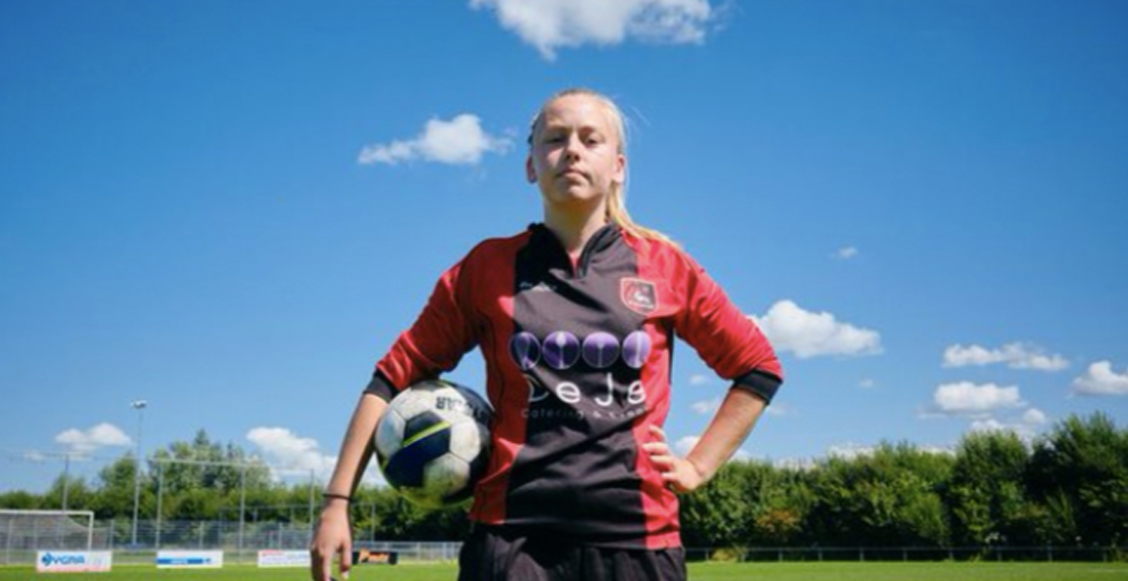 Ellen Fokkema: La futbolista que jugará en un equipo varonil de Holanda