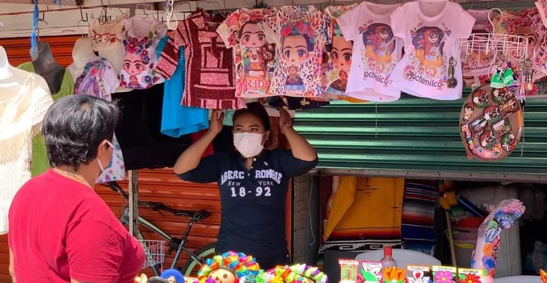 Comercio en Xochimilco