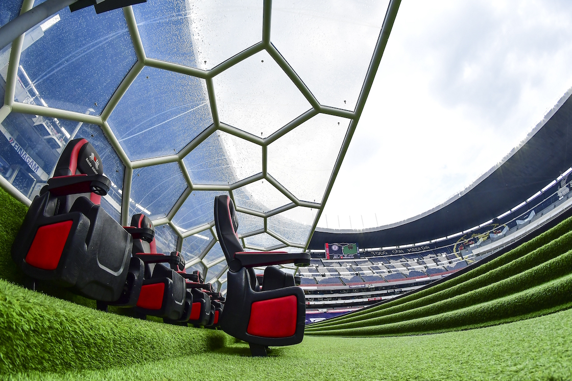 Así luce el Estadio Azteca tras la primera fase de remodelación