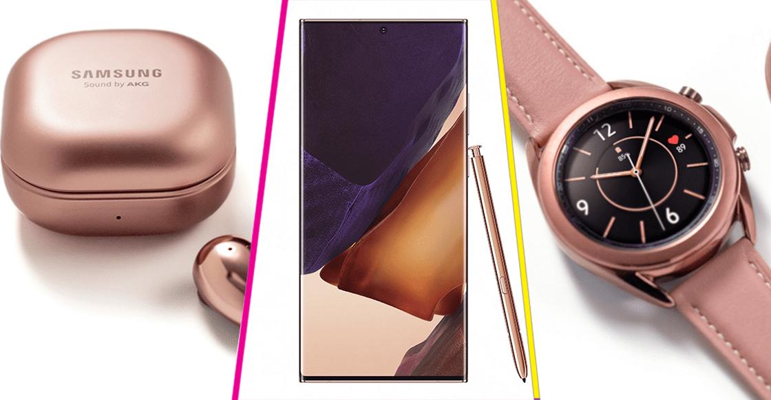 Galaxy Note20, Buds Live y Watch3: Todo lo que se presentó en el Samsung Galaxy Unpacked 2020