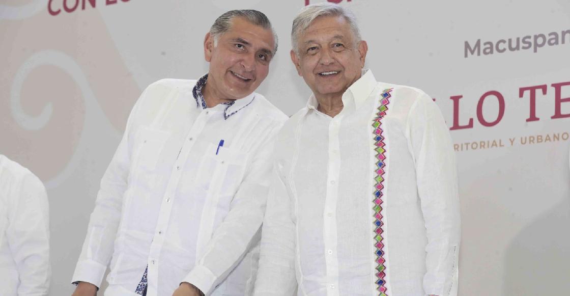 Gobernador Tabasco anuncia que invirtió 100 mil pesos en cachitos para la rifa del avión presidencial