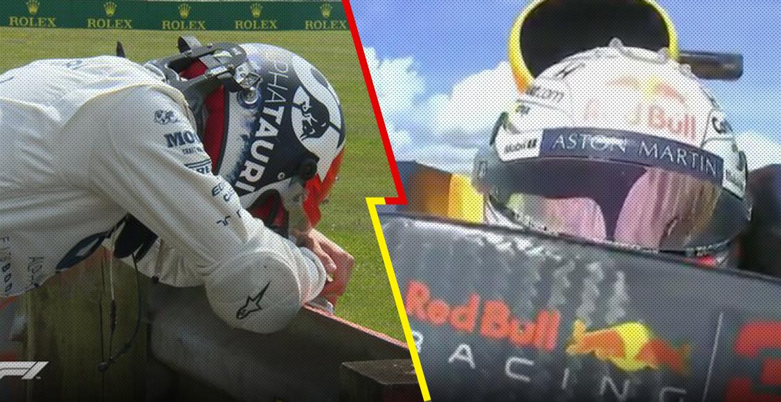 La 'agresión' al camarógrafo y el divertido mensaje de Verstappen: Lo que no se vio del Gran Premio de Silverstone