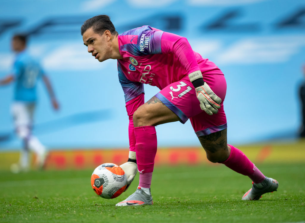 Ederson Moraes y su intento fallido de ser delantero que lo llevó a la portería
