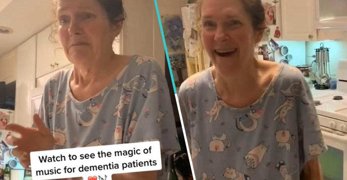 Joven demuestra que la música es medicina para su madre con demencia y se vuelve viral