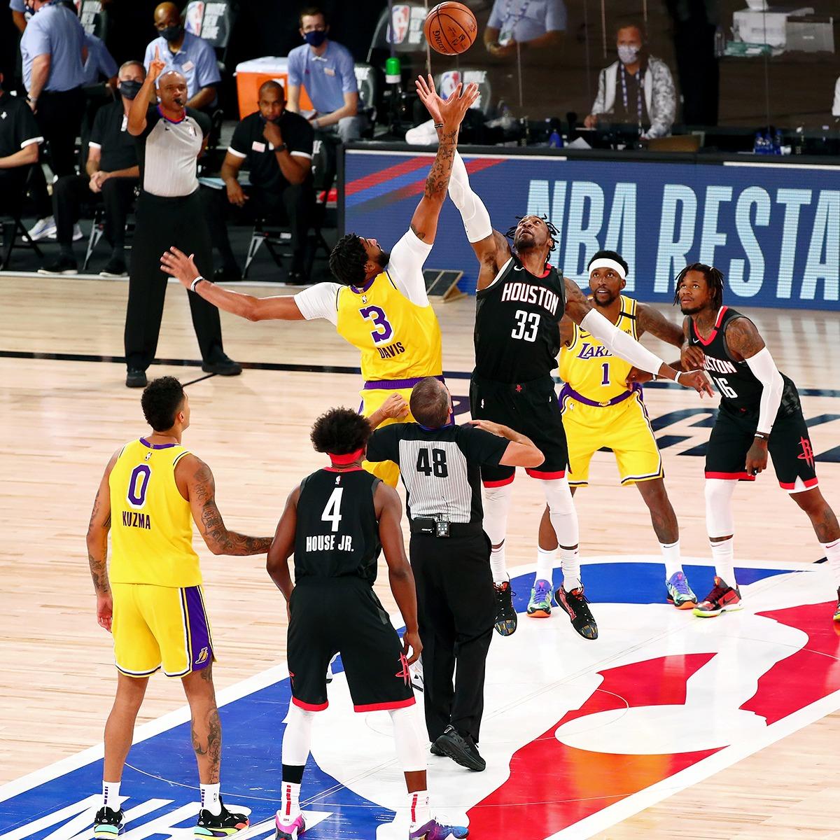 James Harden barre con los Lakers sin el lesionado LeBron James