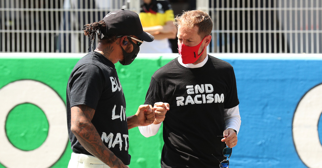 Hamilton descarta boicot en F1, pero sí habrá protocolo contra el racismo