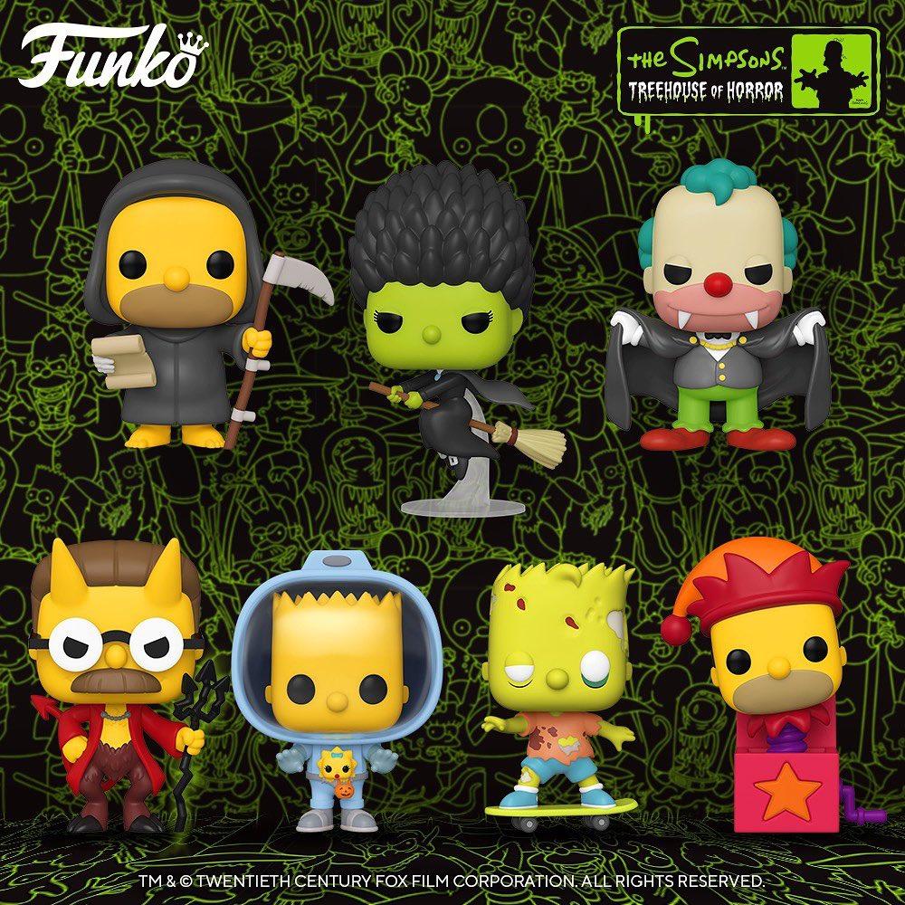 Funko lanzará nuevas figuras inspiradas en 'La casita del horror' de 'Los Simpson'