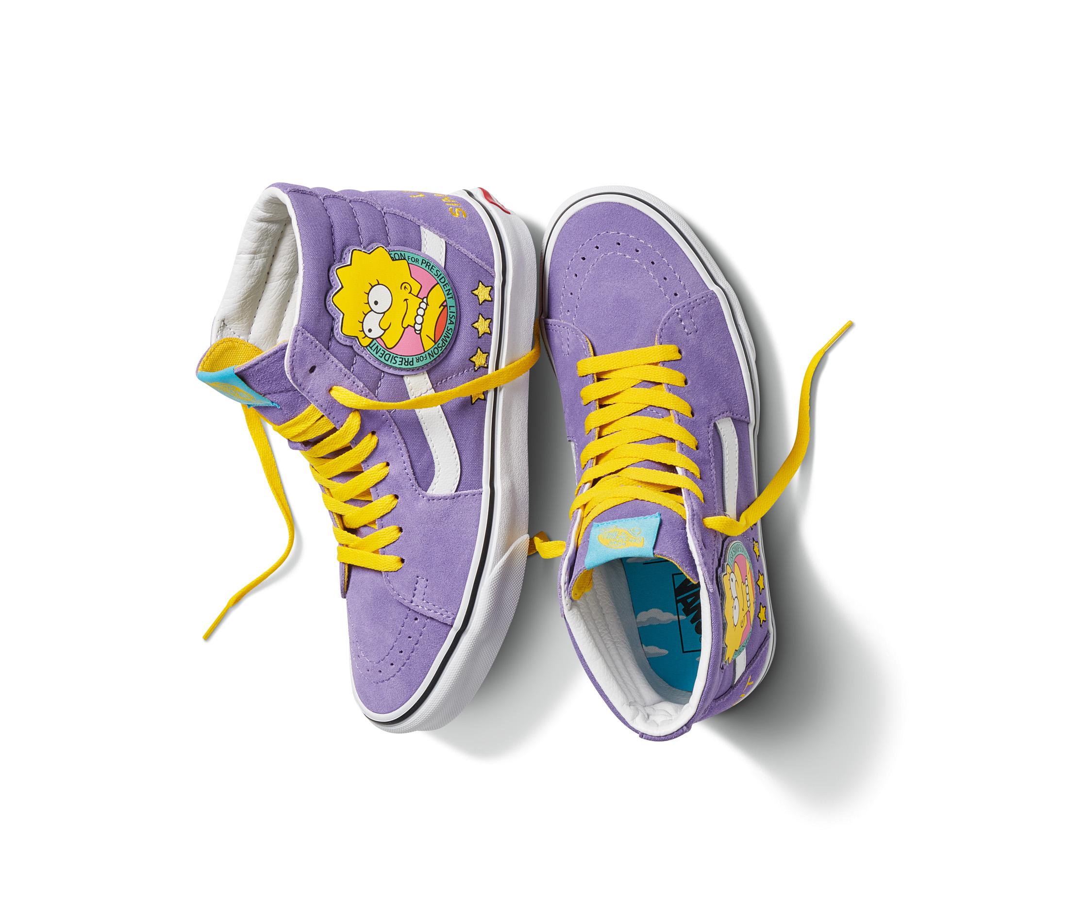 Anda la osa: ¡Checa la increíble colección de Vans inspirada en 'Los Simpson'!