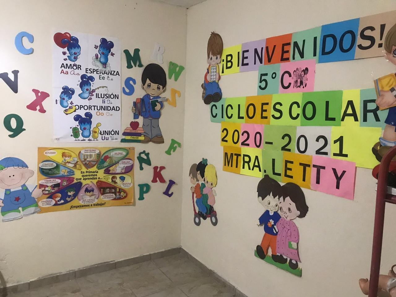En imágenes: Los maestros le ponen mucha creatividad al regreso a clases a distancia