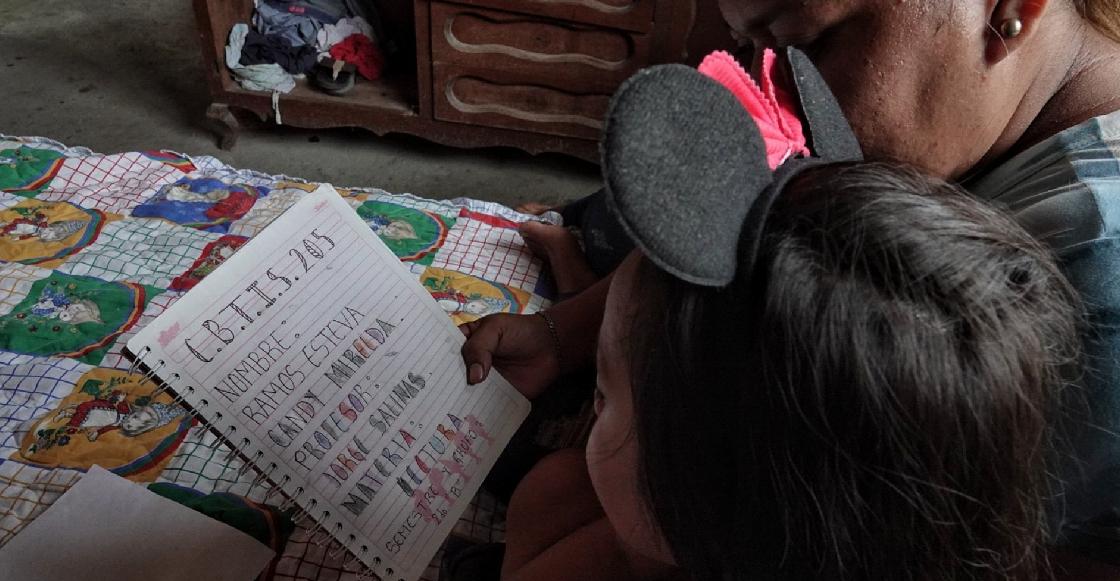 Maestra pide a la SEP cancelar ciclo escolar ante la falta de recursos de sus alumnos
