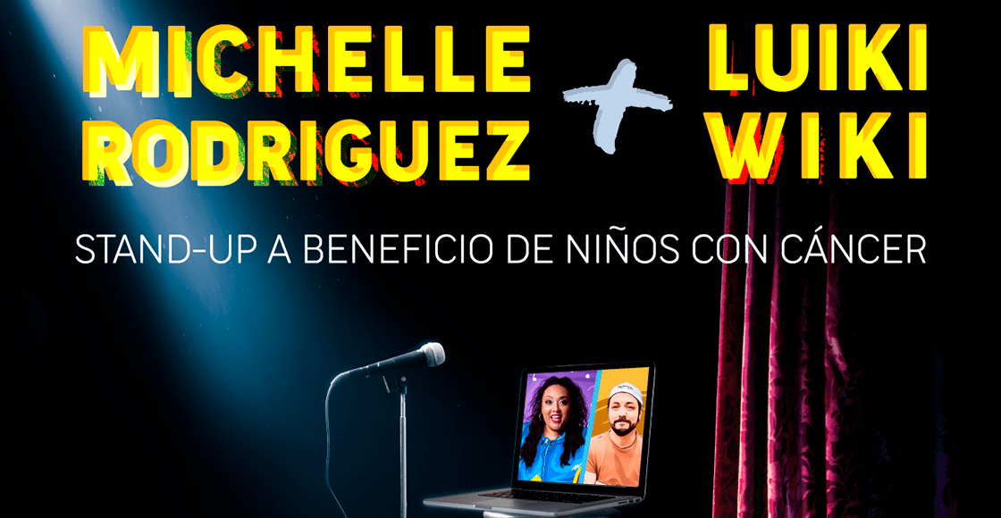 'Más ayuda el que más ríe': Michelle Rodríguez y Luiki Wiki armarán un show para apoyar a los niños con cáncer