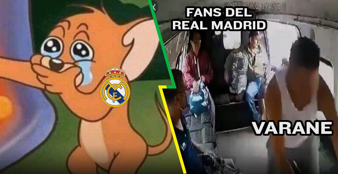 ¡El nuevo Karius! Los memes no perdonaron a Varane tras los 'regalitos' al Manchester City