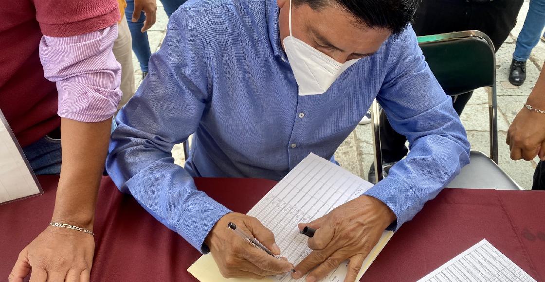 Morena inició recolección de firmas en el país para que Peña Nieto y Calderón sean enjuiciados