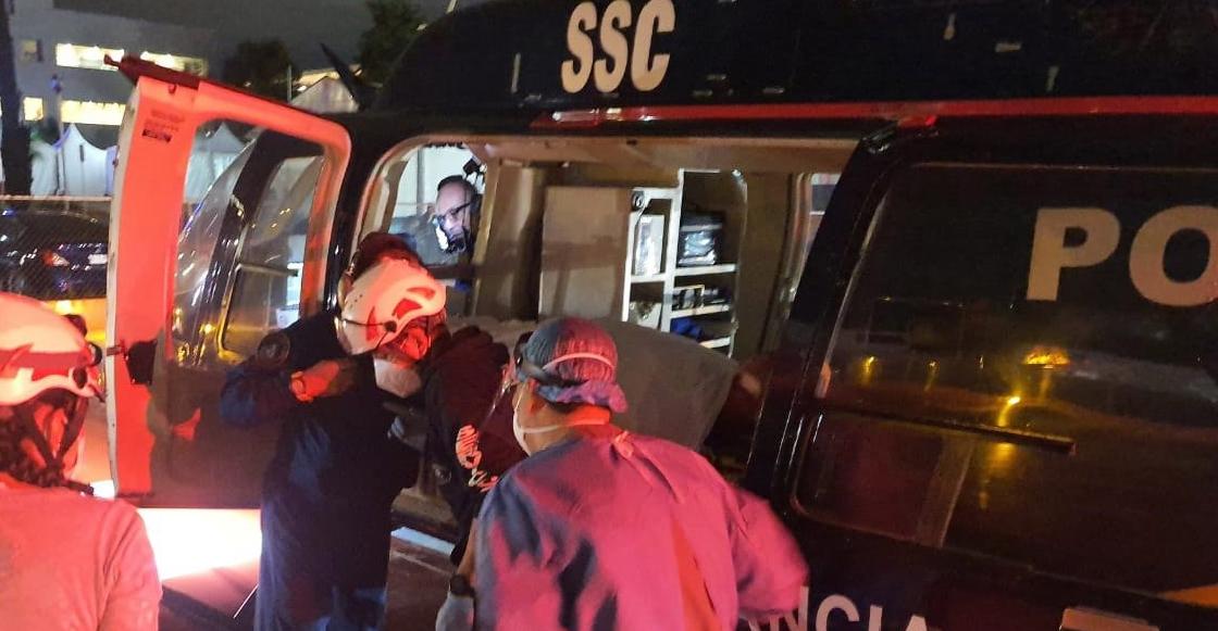 Motociclista le disparó a un policía de la CDMX que trató de auxiliarlo cuando ambos chocaron