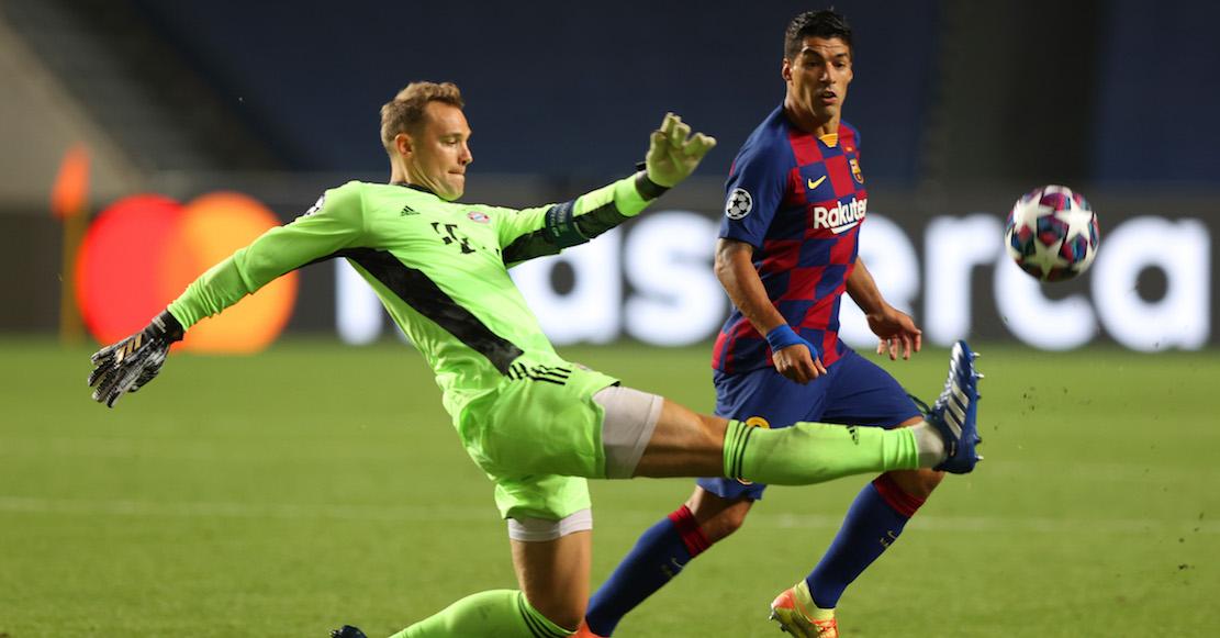 Neuer gana el duelo de atajadas ante Ter Stegen en la goleada del Bayern sobre Barcelona