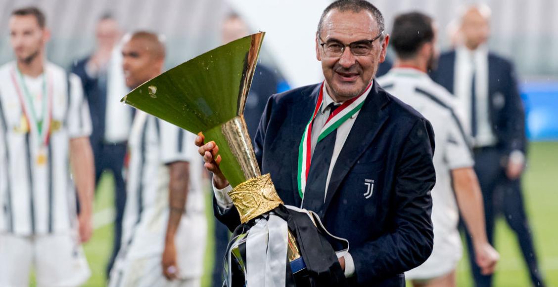 ¡Se fue! La Juventus despidió a Maurizio Sarri tras su 'fracaso' en la Champions League
