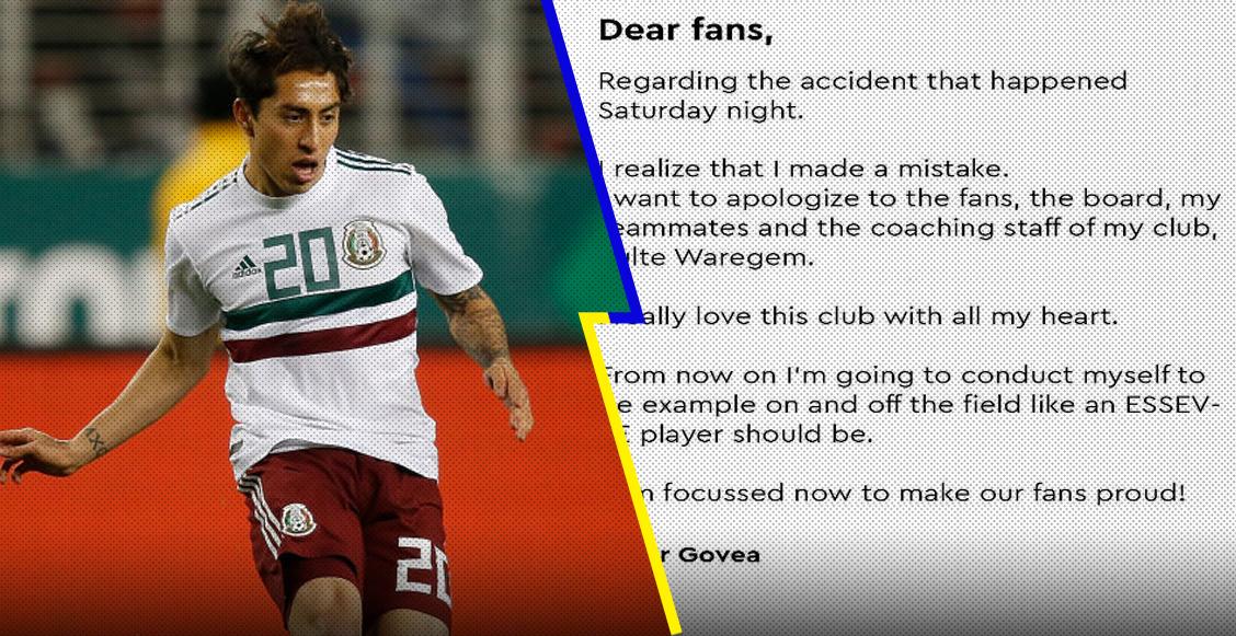 La disculpa de Omar Govea tras ocasionar un accidente automovilístico