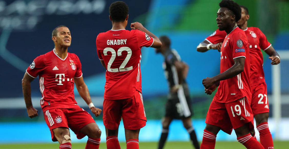 ¡Una máquina! Así llega el Bayern Múnich a la final de la Champions League