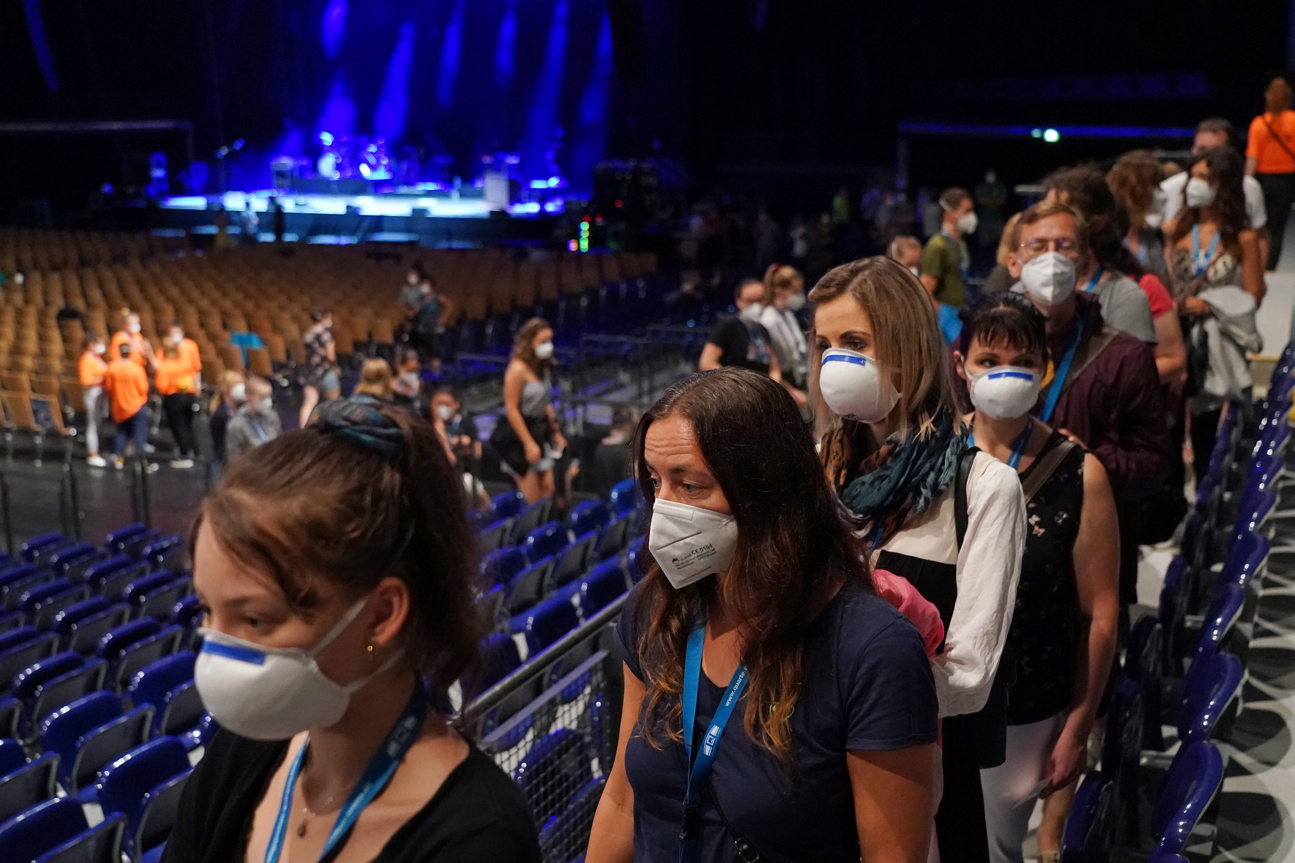 Científicos alemanes organizaron tres conciertos para estudiar cómo se propaga el coronavirus