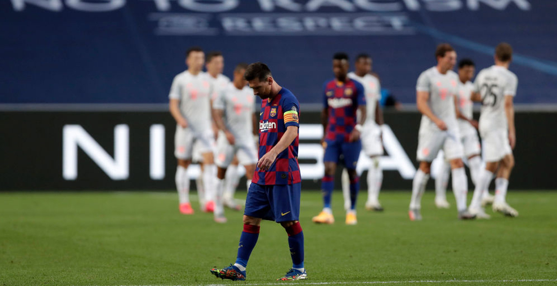 Ferdinand le aconseja a Messi que se vaya del Barcelona lo más pronto posible