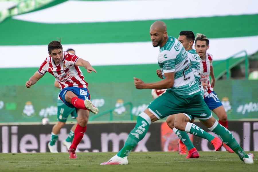 Santos vs Chivas Liga MX